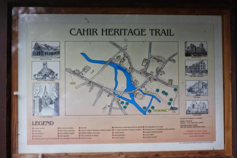 Cahir Heritage Trail Ireland