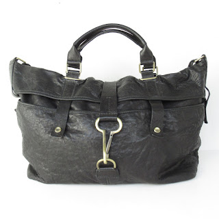 Theory Large Leather Shoulder Bag