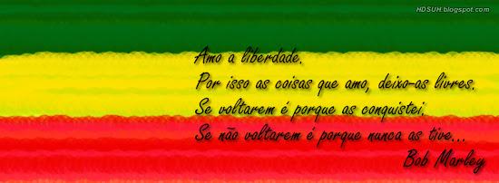 Frases do Bob Marley 5# - Capas para Facebook
