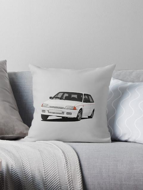 Citroën AX GT home decor - pillow