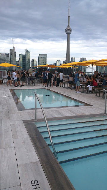 brand-new rooftop pool party Lavelle in Toronto in Toronto, Ontario, Canada