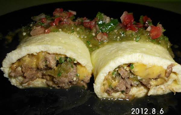 Steak And Egg Roll