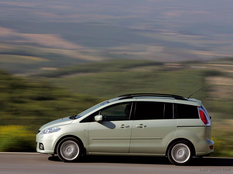 2007 mazda mazda5 minivan specifications pictures prices. Black Bedroom Furniture Sets. Home Design Ideas