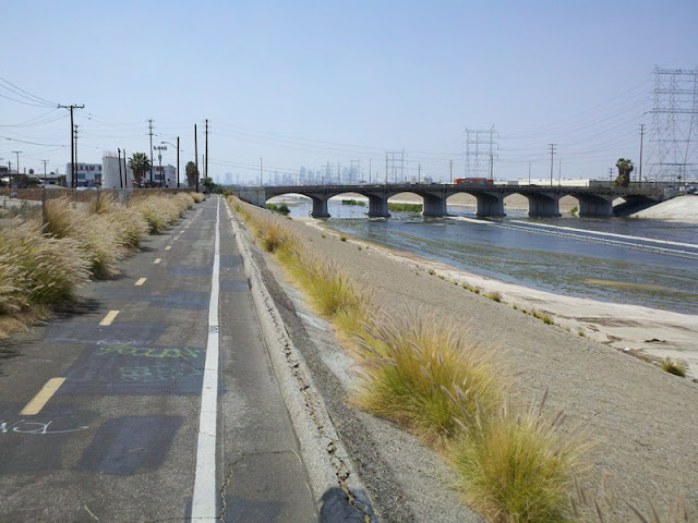 Image result for los angeles river bike path