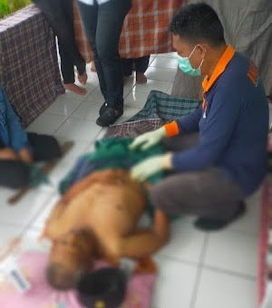 Sat Reskrim Polres Soppeng Giat Olah TKP Penemuan Mayat di Jalan Balubu
