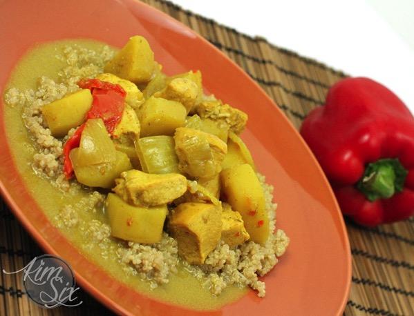 Crock Pot Chicken Coconut Curry