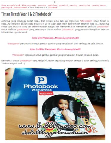 KOLEKSI BUKU GAMBAR IMAN FIRASH DARI PHOTOBOOK MALAYSIA_RM5.00 AJER! 12