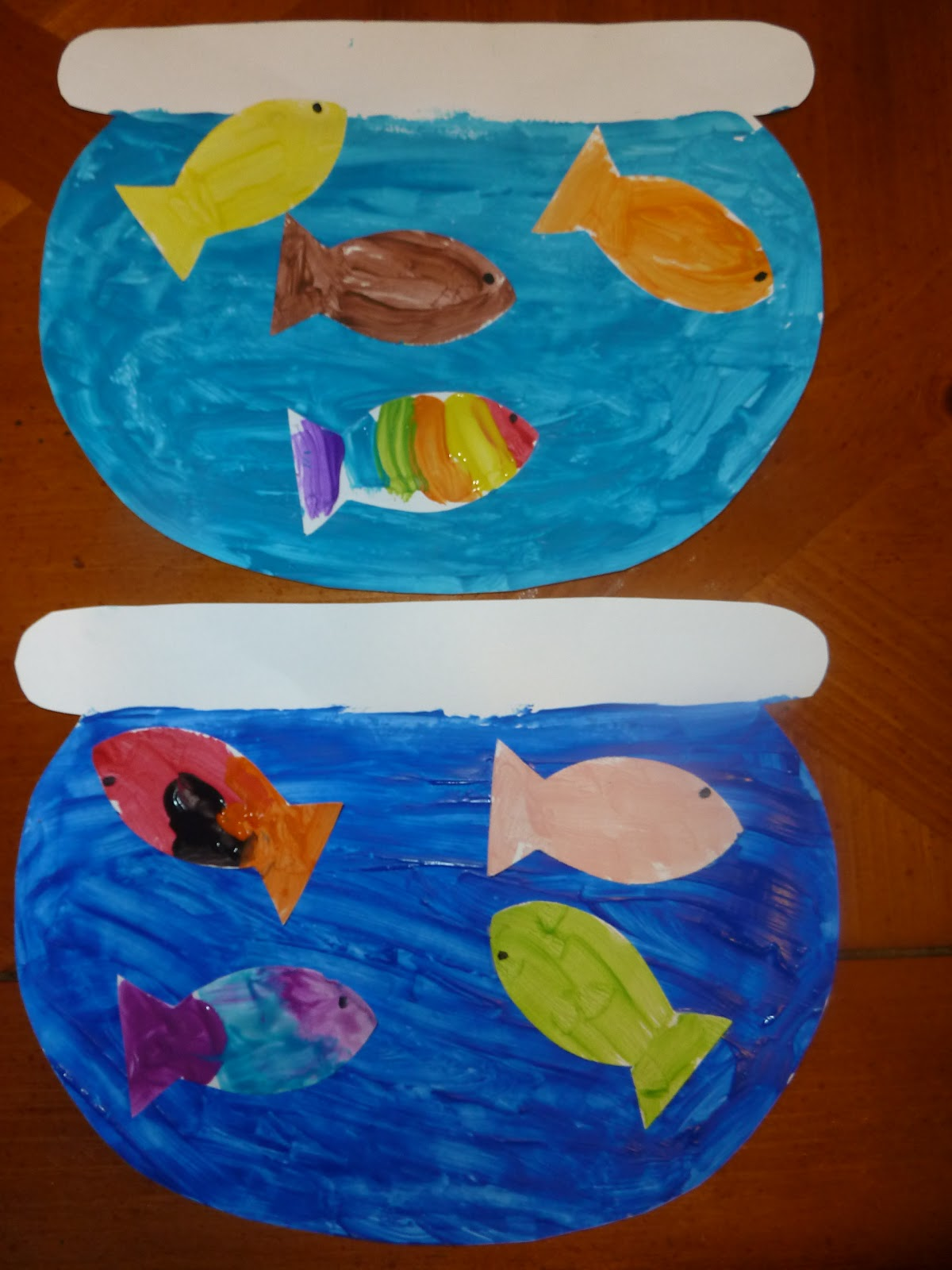 Bobo gallery dr seuss theme one fish two fish red for Fish bowl craft