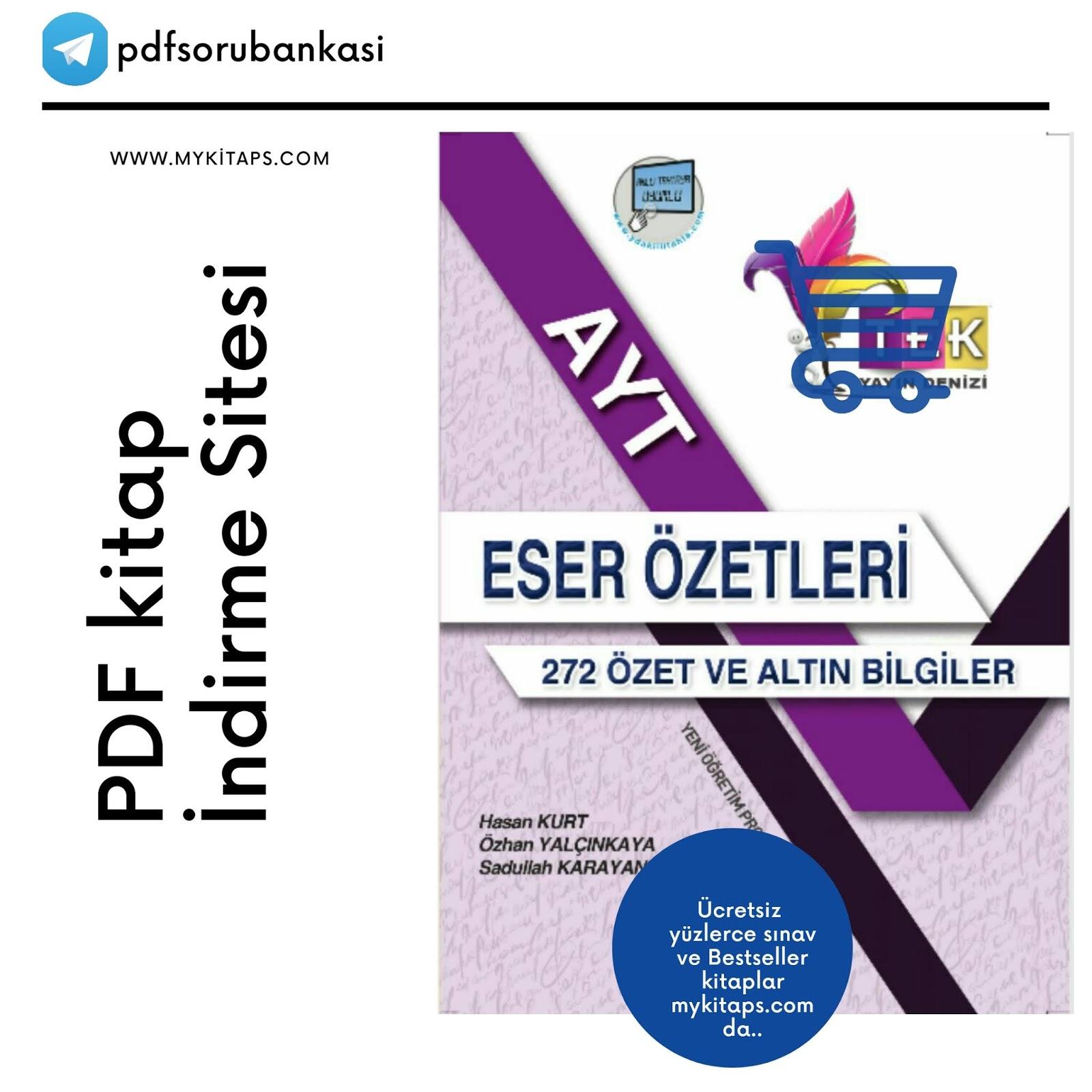 Yayın Denizi 272 Yazar Eser Özeti .zip