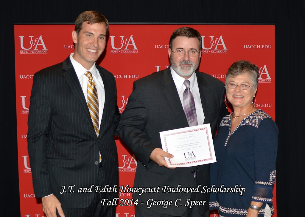Scholarship Awards Ceremony Fall 2014 - George%2BC%2BSpeer.jpg
