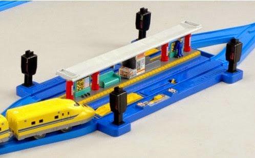 Hình ảnh giống thực tế của  Nhà ga tránh tầu Auto Transfer Doctor Yellow Set