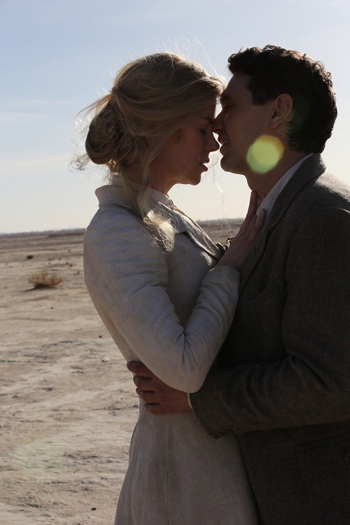Nicole Kidman and James Franco in QUEEN OF THE DESERT