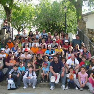 Senderismo en el Valle del Jerte -Abril 2010-
