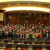 Kosovalı Türk Öğrenciler Meclisi Şenlendirdi