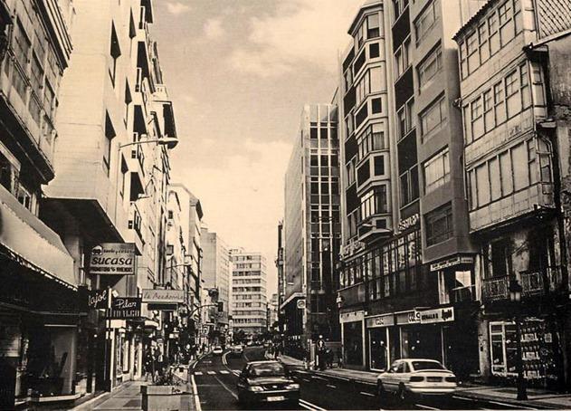 calle San Andrés, la primera de 1912 y la segunda de 1996-