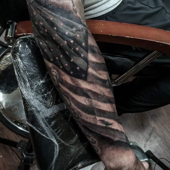Esta bandeira americana