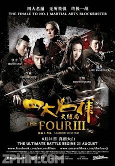 Tứ Đại Danh Bổ 3 - The Four 3 (2014) Poster