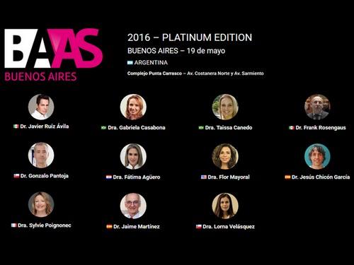 speakers baas platinum edition buenos aires 19 mai 2016