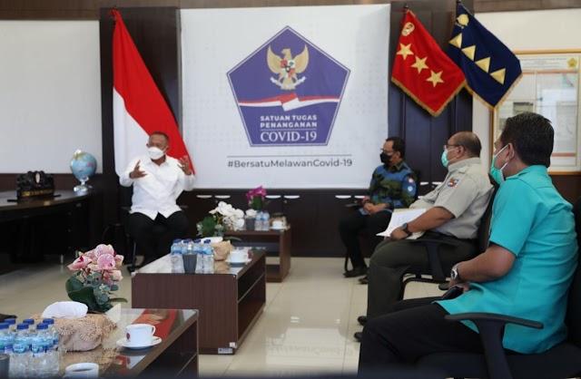 Bertemu Kepala BNPB, Bima Arya Bahas Aktivasi RS Lapangan dan Usulan Pengetatan Kebijakan