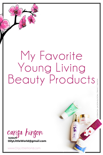 My Favorite Young Living Beauty Products