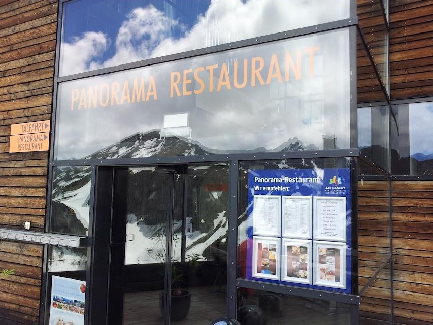 Bild vom Eingang des Panoramarestaurants an der Kanzelwandbahn