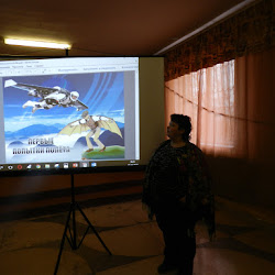 Квест-игры посвящённой Дню космонавтики «Отправляемся в полёт» (Новосельский СДК)