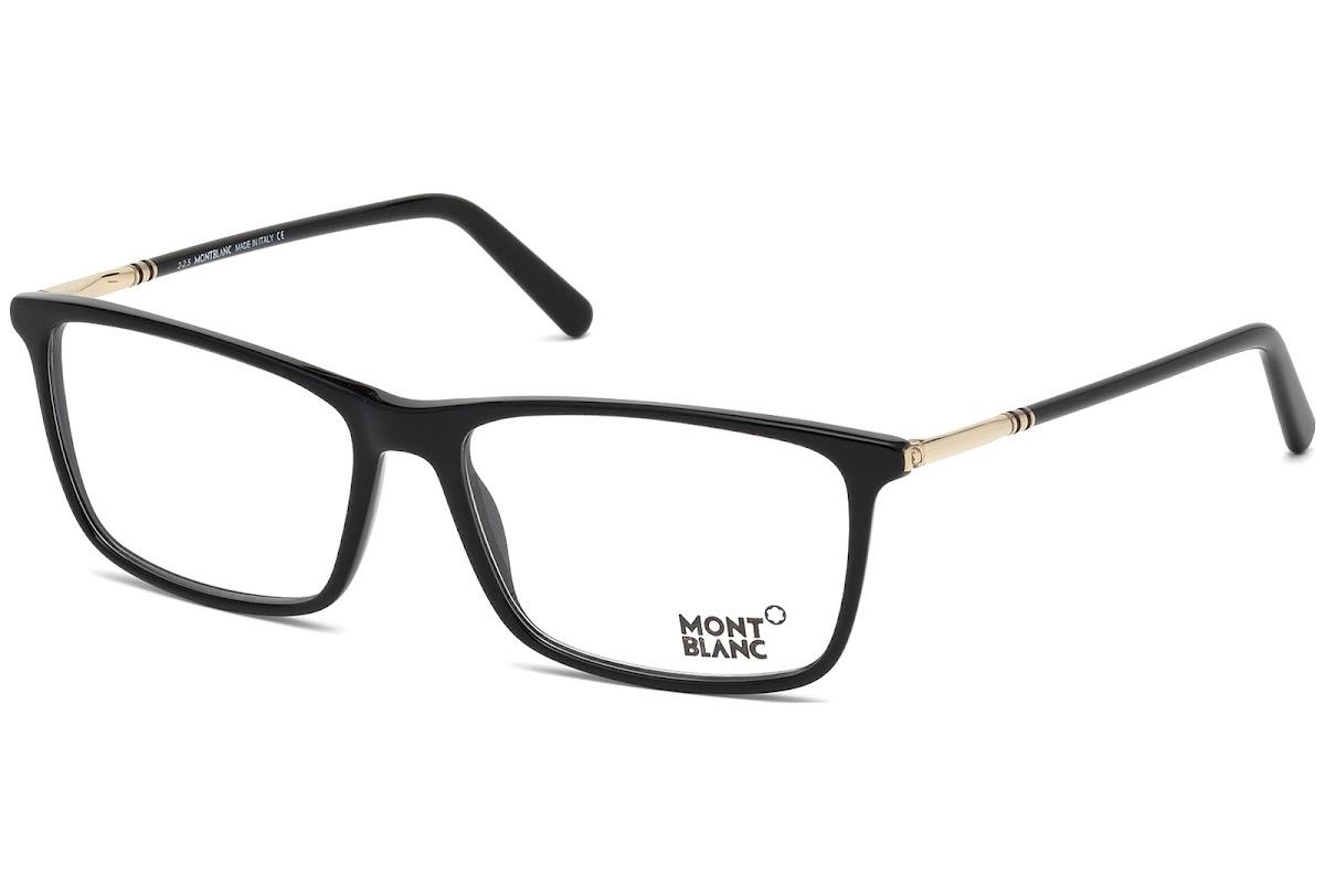 Comprar Monturas Montblanc MB0626 C57 A01 (shiny black / ) | opti ...