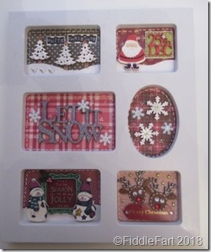 CHristmas Sampler Photo Frame 1