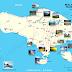 Peta Tempat Wisata Bali
