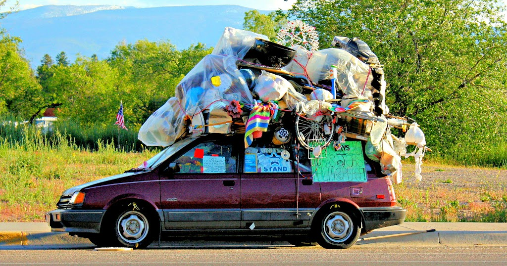 Missoulians are all about our recycling!  Photo by Amy Williams.