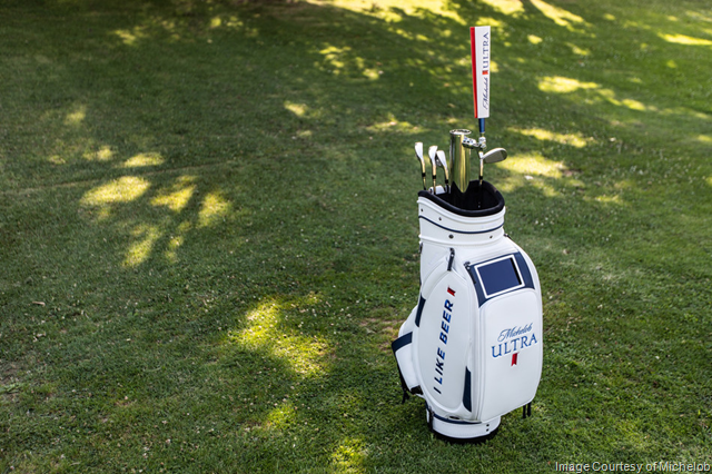 Michelob ULTRA Unveils Its Latest Innovation - the ULTRA Caddie - Designed with a Keg Inside for the Ultimate 19th Hole Experience