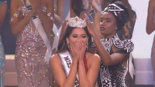Miss Mexico  Andrea Meza  has been crowned as the 69th Miss Universe!