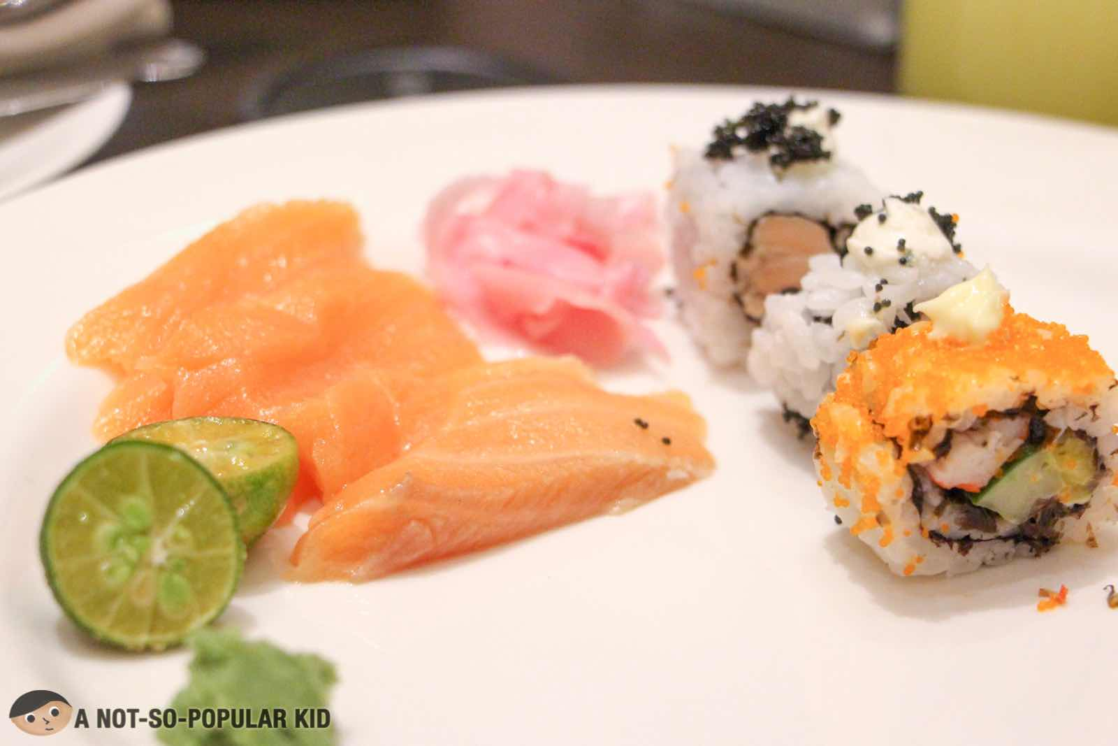 Japanese Corner - Sushi, maki and sashimi in S Kitchen