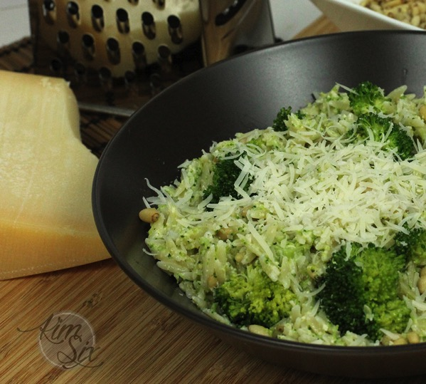 Parmesean and Broccoli Pesto