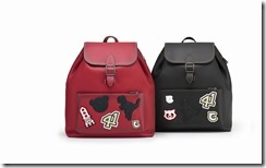 Coach - 57455 - Regent Street Exclusive Rainger Backpack, Black & Red- 795GBP