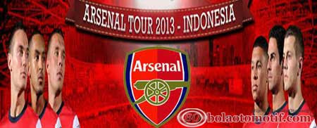 Harga tiket arsenal melawan indonesia dream team 2013