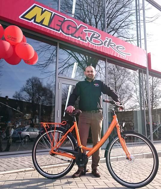 Kieler Manufaktur mega bike kiel