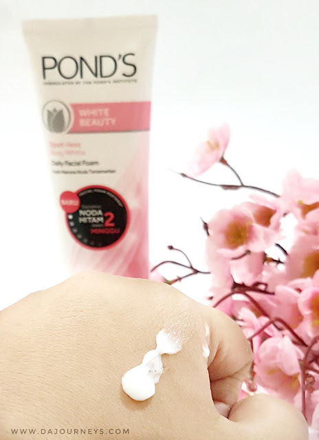 [Review] Ponds White Beauty Spot Less Rosy White Facial Foam