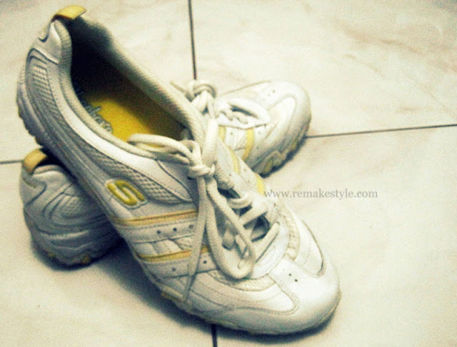 Sneakers: How Santa Gave me Those Shoes - Yellow Skechers Sneakers