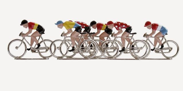 ciclistas de plomo, el juego de los ciclistas