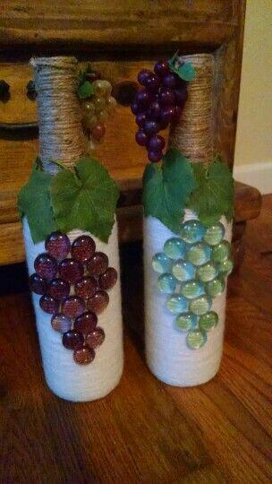 más y más manualidades: Decoraciones de racimos de uvas sobre ...