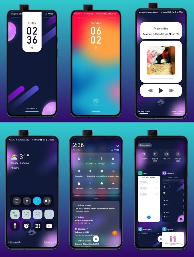 Simple Dual Miui Theme download || Miui Dark Themes || Xiaomi Themes