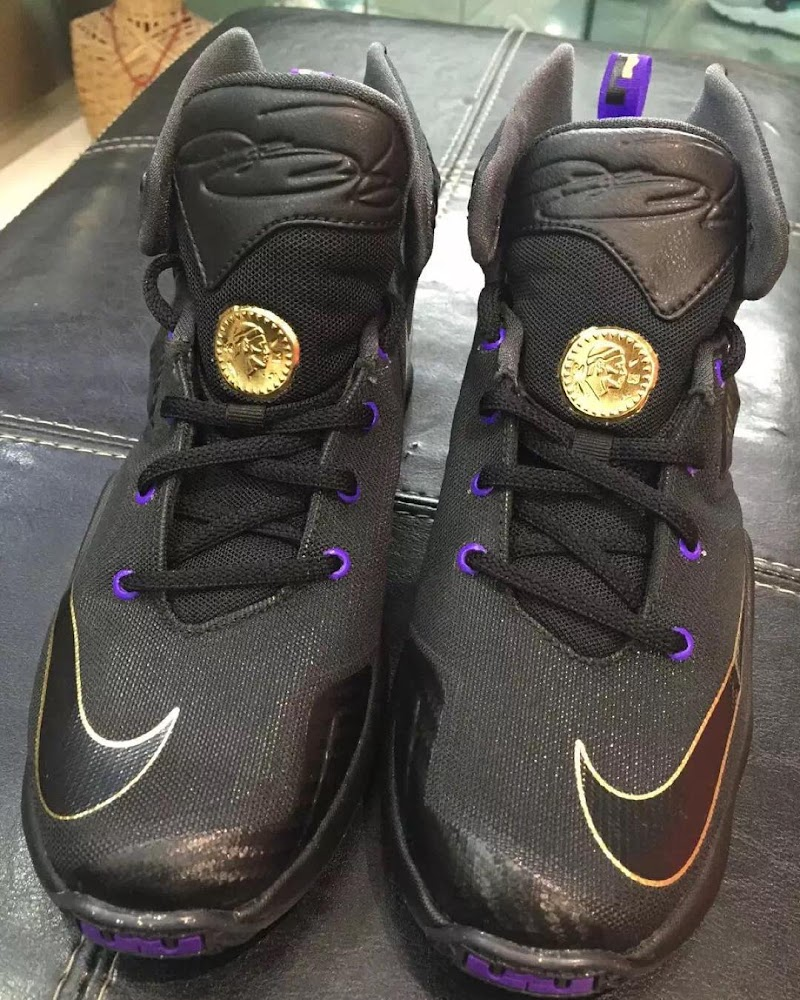 san francisco fb520 73098 ... All The Unveiled Kids Nike LeBron 13s Pose Together ...