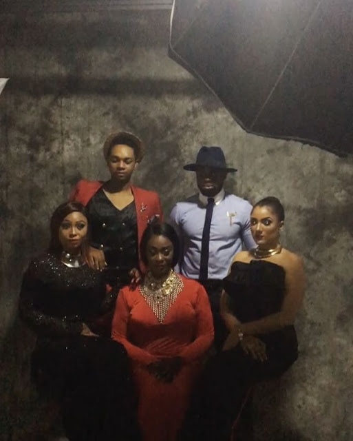 Evicted BBNaija Housemates, Kemen, Gifty, Miyonse, Cocoice, Uriel Cover House Of Maliq Magazine