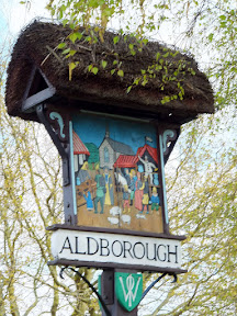 Aldborough village sign