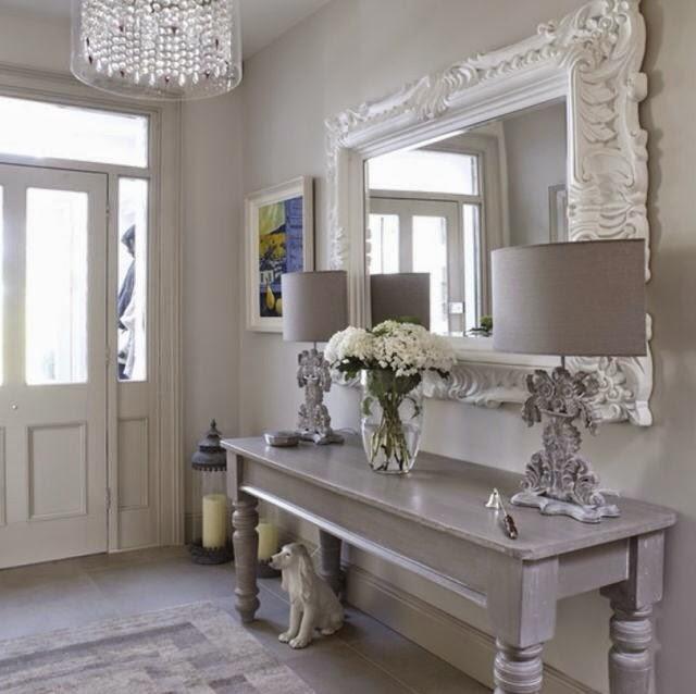 Grises autentico chalk paint la c moda encantada for Muebles pintados en blanco y gris