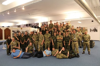 Honington camp, visit to Imperial War museum in Duxford
