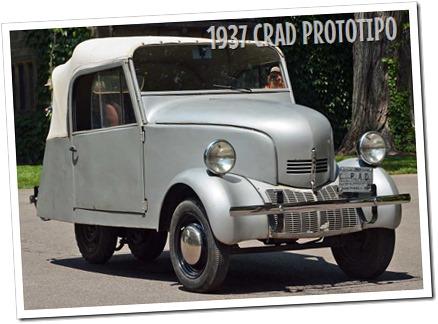 1937 CRAD (Crosley Radio Auto Division) Prototype