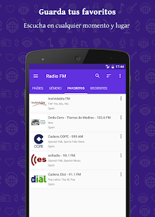 Radio FM - Emisoras gratuitas Screenshot