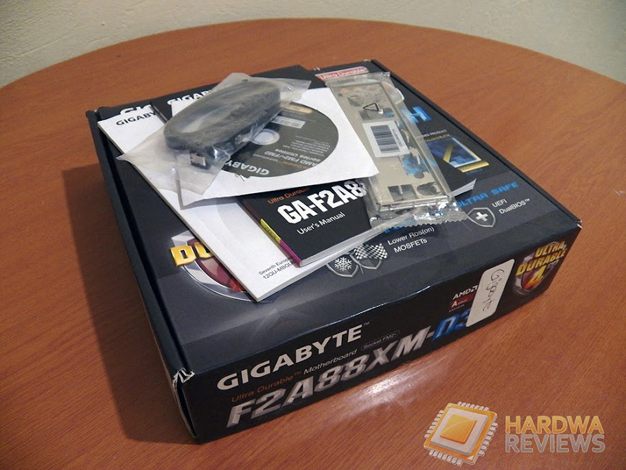 Gigabyte F2A88XM-D3H